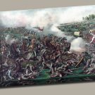 Five Forks battle Gallery Wrap canvas print Kurz and Allison