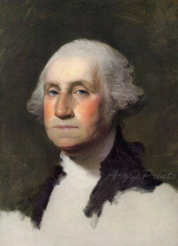 George Washington portrait 1796 President fine art print by Stuart