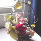 Small Flowers and Twig Floral Arrangement  #300381
