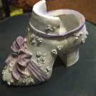 Light Blue and Lavender Highheel Shoe Planter #300190