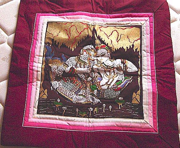 Cranberry India God and Goddess Pillow Sham #300546