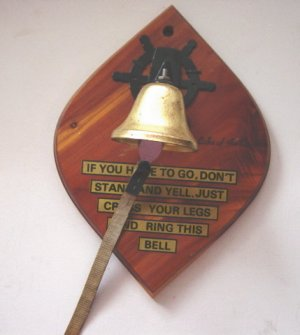 Novelty Lake of the Ozarks Ring the Bell Wall Plaque #300583