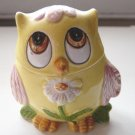 Yellow Owl Pink Feathers Fragrance Holder #300592