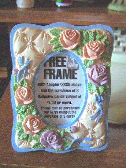 Hallmark Floral Picture Frame at Periwinkles #300692