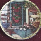 Hannah Hollister Igmire Lazy Morning Cat Collector Plate No. 1626H  #300813