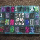 Large Container of Plastic Jewelry Craft Beads Never Used #300854