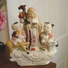 Porcelain Chinese Asian Japanese Family Figurine  #300893
