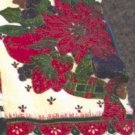 Christmas Poinsettia Kitchen Tea Towel at Periwinkles   #300988
