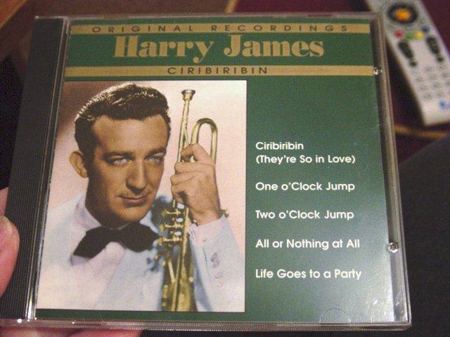 Ciribiribin Harry James Big Band Music CD #301053