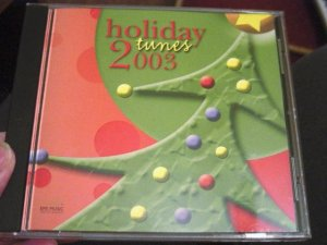 Holiday Tunes 2003 Collection of Season's Best Music CD #301074