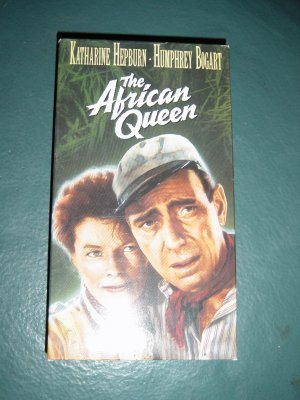 The African Queen Humphrey Bogart VHS Video #301216