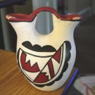 Native American Indian Pottery Two Spout Vase #301249