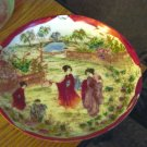 "5 1/4"" Asian Four Ladies in Garden Collector Plate #301260"