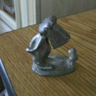 Small Hand Crafted Pewter Figurine The Casual Observer #301445