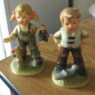 Pair of Vintage Gambles Boy & Girl Hummel Like Figurines Made in Japan #301447