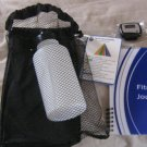 New AARP Walk & Trim Kit w/ Water Bottle, Pedometer & Fitness Journal #301459