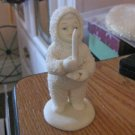 "Dept 56 Snowbabies ""Just One Little Candle"" Christmas Figurine #301521"