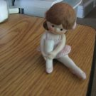 Vintage 1983 Enesco Girl Ballerina Figurine Mint #301522