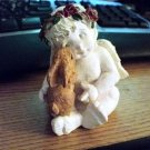 Small Dreamsicles Like Angel with Rabbit Figurine #301545