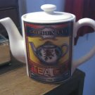 Porcelain Corner Store American Tea Company Golden Cup Tea Co. Teapot #301552