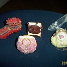 Ceramic / Resin Pottery Art Miniature Purses and Shoes #301583