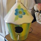 Round Porcelain Painted Birdhouse by DH Corp/Accents Limited  #301597