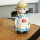 Small Vintage Little Dutch Girl Figurine   #301617