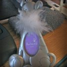 Adorable Pewter Dog with Fur Collar and Ball Picture Frame #301661