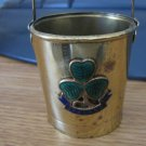 Miniature Copper or Brass Ireland Pail  #301675
