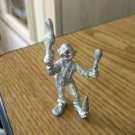 Miniature Pewter Clown Juggling Objects Figurine #301695
