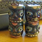 Tiki Porcelain Salt and Pepper Shakers #301935