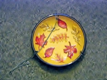 Ceramic Hanging Bird Feeder from The Cathy Hatch Collection #301937