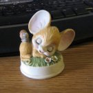 Charming Figurine Sleeping Mouse with a Snail on Back #C-9447 #301920