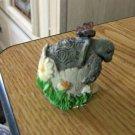 Cute New Born Baby Turtle on Half Shell Figurine #301793