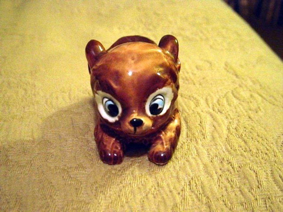Kreiss & Company Large Blue Eyed Puppy Dog Figurine  #301129