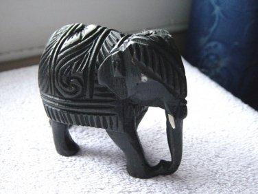 Hand Carved Teakwood Elephant #300091