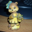 May Girl Bear of the Month Porcelain Bobble Head Bobble #301768