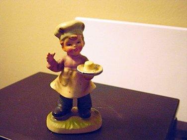 Napcoware C-8811 Little Baker Boy Figurine #301099