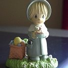 1989 Precious Moments Plastic Enesco Church Going Girl Figurine #300657
