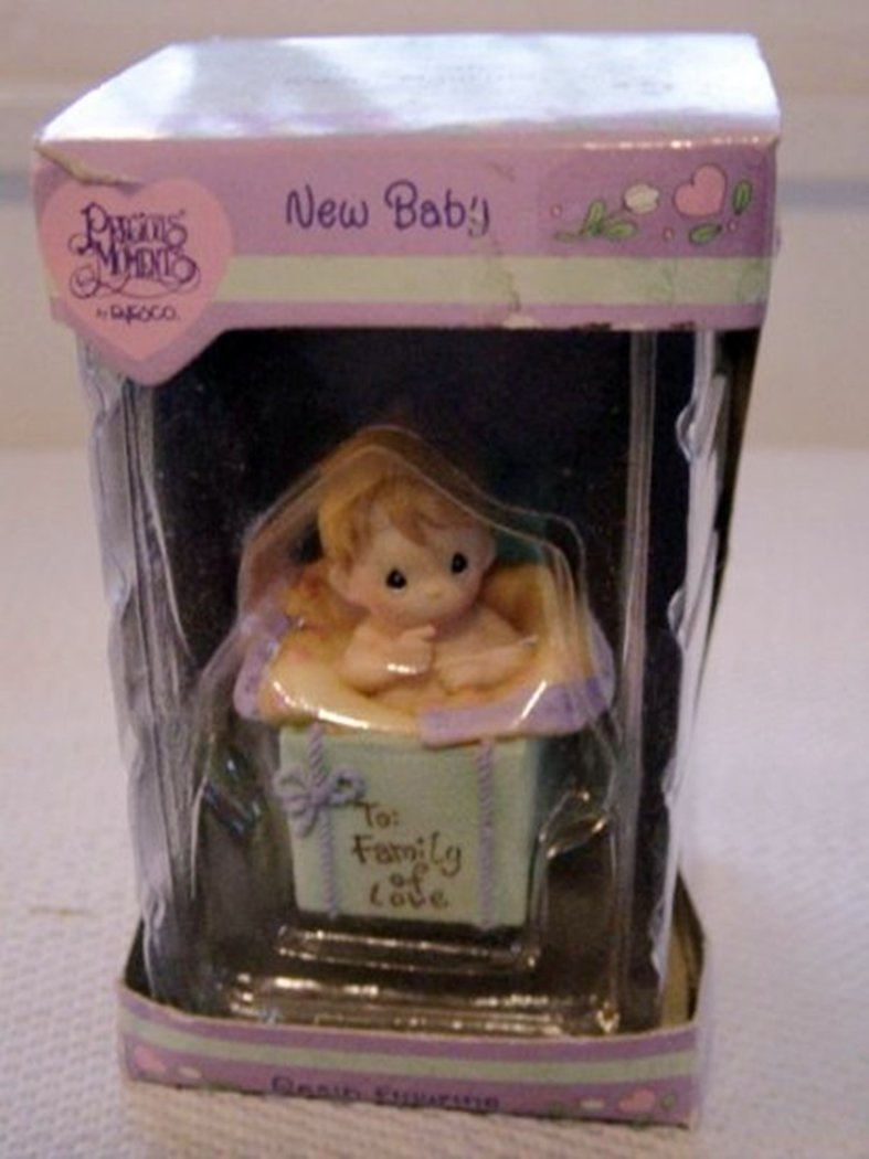 Precious Moments by Enesco New Baby Resin Figurine #300148