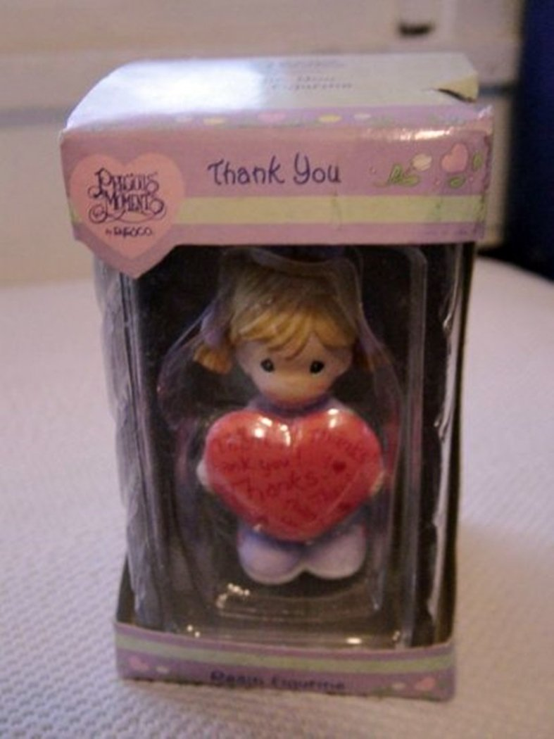 Precious Moments by Enesco Thank You Resin Figurine #300149