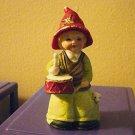 Vintage 1980 MWC Little Drummer Boy Porcelain Bell    #301081