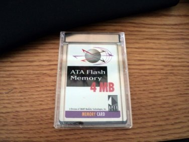 Apex Data 4MB ATA Flash Memory Card #301477