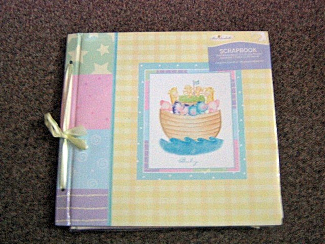 Miss Elizabeth's Noah's Ark Scrapbook, Calendar, 3 Pack Stickers and Scrapbooking Papers #301951