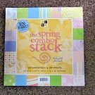 "DCWV Textured Cardstock The Spring Combo Stack 8"" X 8""- 33 Cardstock and 36 Prints #301593"