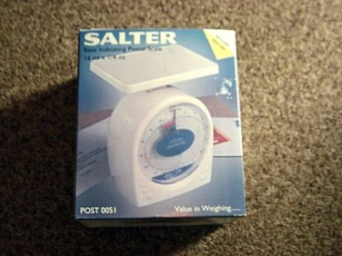 16 Oz by 1/4 Oz Salter Post 0051 Rate Indicating Postal Scale #301347