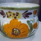 Hand Painted Napcoware White Bright Flowers Porcelain Planter #300980