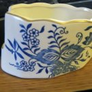 Vintage Chadwick of Japan Ceramic Spoon Holder Blue Onion Pattern #301706