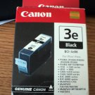 Canon Ink Cartridge 3E Black Brand New Sealed Package #301970