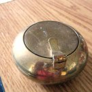 Small Round Brass Lidded Tea Light Candleholder Made in India #301730
